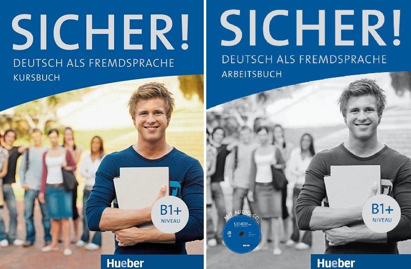 کتاب آموزش زبان آلمانی +Sicher! B1 به همراه کتاب کار و فایل های صوتی کتاب ها