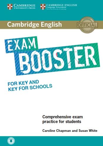 کتاب Exam Booster for Key and Key for Schools به همراه فایل های صوتی کتاب
