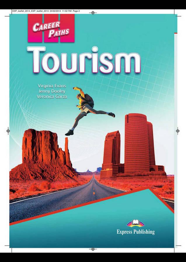 کتاب Career Paths Tourism به همراه کتاب معلم و فایل های صوتی کتاب