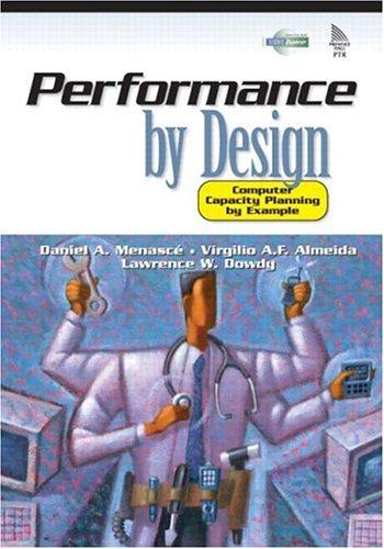 حل تمرین کتاب طراحی اجرایی Menasce و Dowdy و Almeida