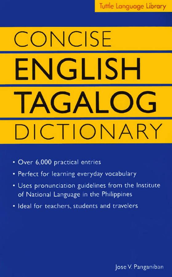 دیکشنری انگلیسی به فیلیپینی Concise English Tagalog Dictionary