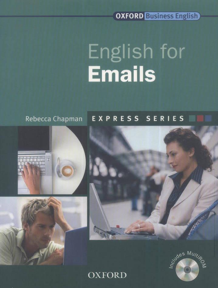 کتاب Oxford English for Emails به همراه فایل های صوتی کتاب