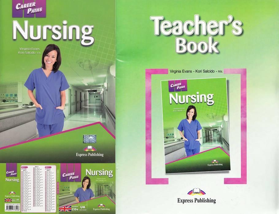 کتاب Career Paths Nursing به همراه کتاب معلم و فایل های صوتی کتاب