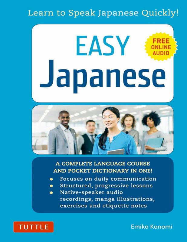 کتاب آموزش زبان ژاپنی Easy Japanese Learn to Speak Japanese Quickly