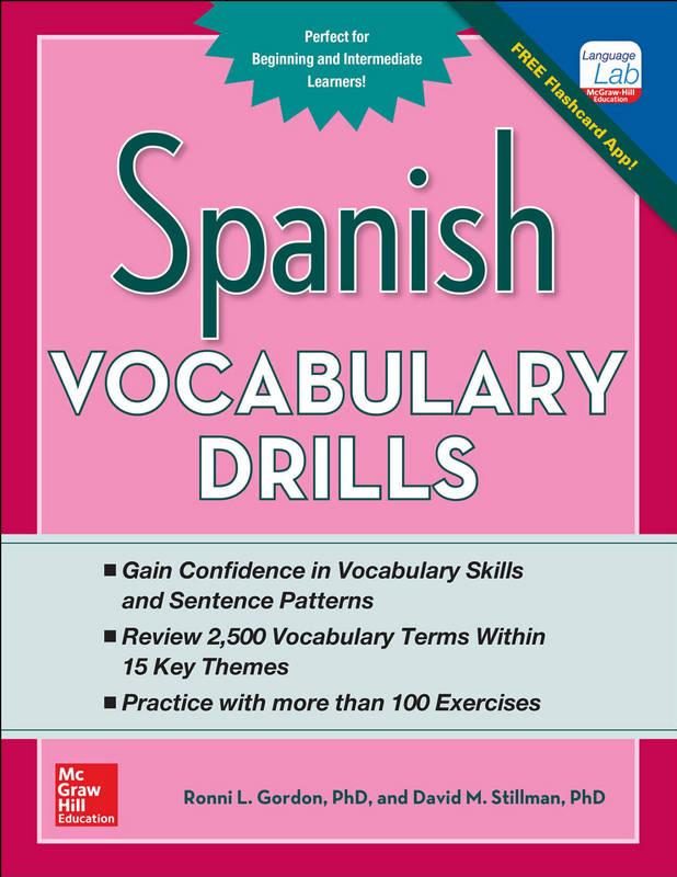 کتاب Spanish Vocabulary Drills سال انتشار (2015)
