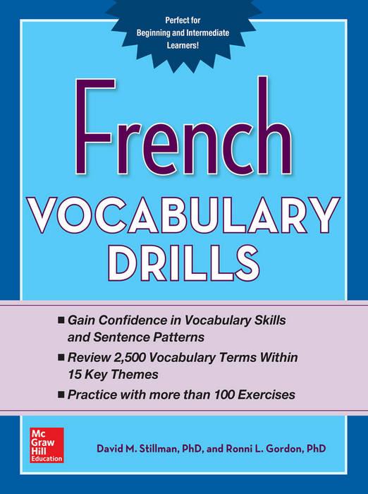 کتاب French Vocabulary Drills سال انتشار (2015)