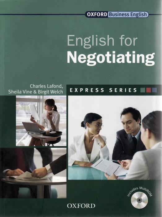 کتاب Oxford English for Negotiating به همراه فایل های صوتی کتاب