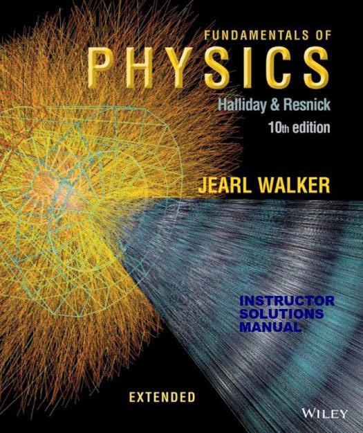 حل تمرین کتاب فیزیک Halliday و Resnick و Walker - ویرایش دهم