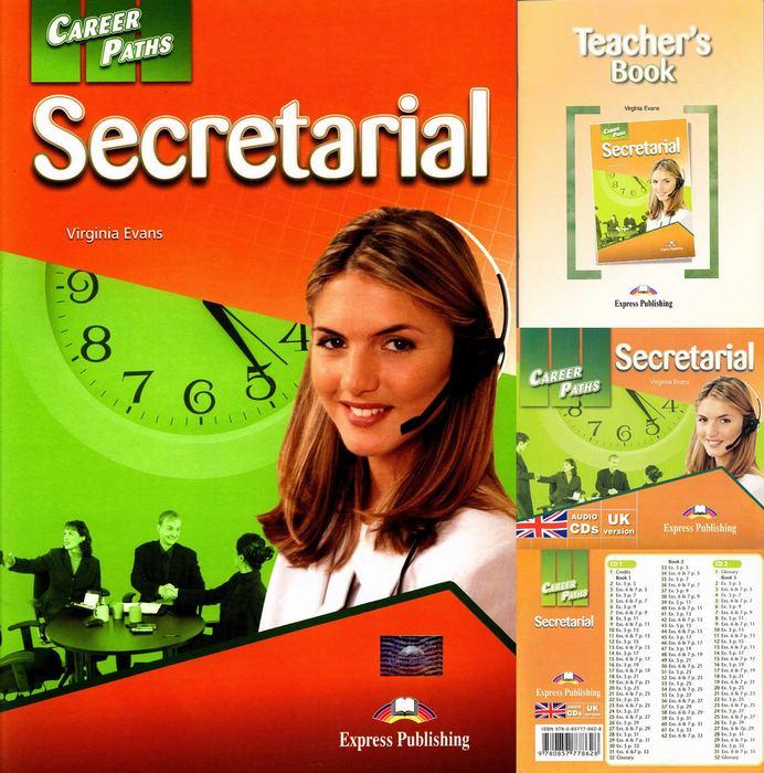 کتاب Career Paths Secretarial به همراه کتاب معلم و فایل های صوتی و فایل های ویدیویی کتاب