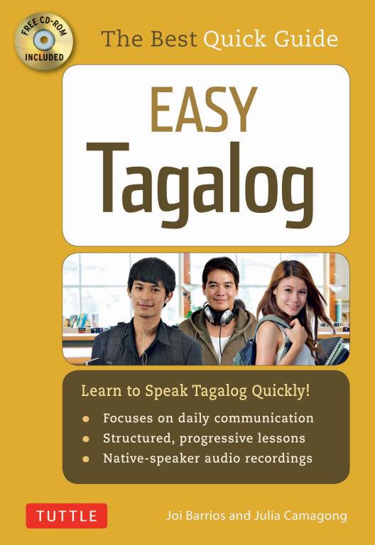کتاب آموزش زبان فیلیپینی Easy Tagalog- Learn to Speak Tagalog Quickly به همراه فایل های صوتی کتاب