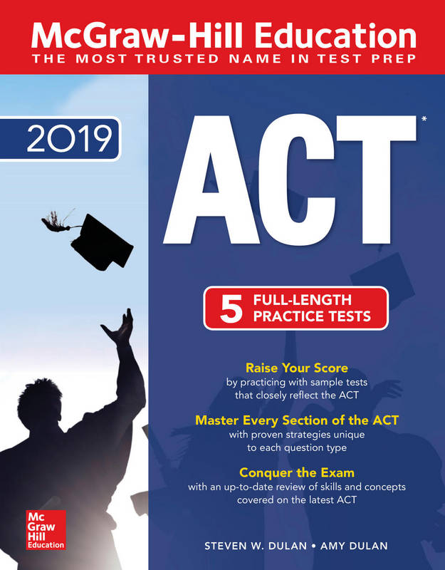 کتاب McGraw-Hill Education ACT 2019