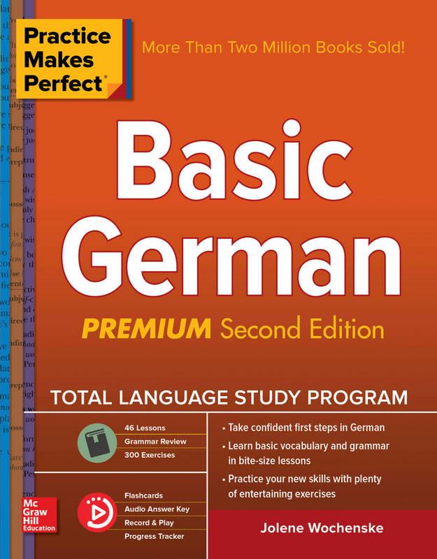 کتاب آموزش زبان آلمانی Practice Makes Perfect - Basic German - ویرایش دوم (2018)