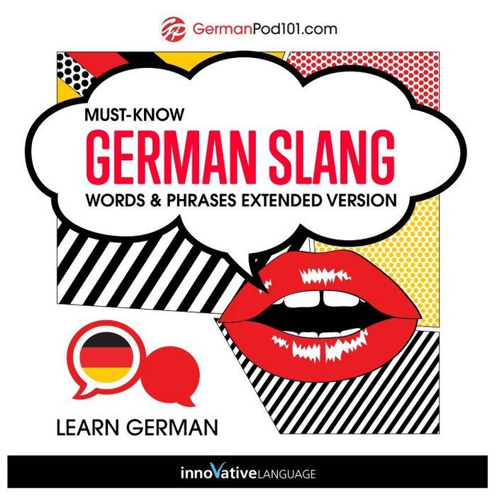 کتاب آموزش زبان آلمانی Must-Know German Slang Words & Phrases به همراه فایل های صوتی کتاب