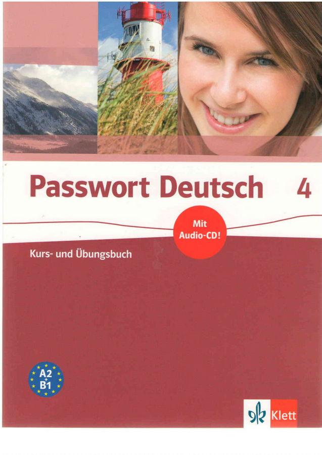 کتاب آموزش زبان آلمانی Passwort Deutsch 4 به همراه فایل های صوتی کتاب