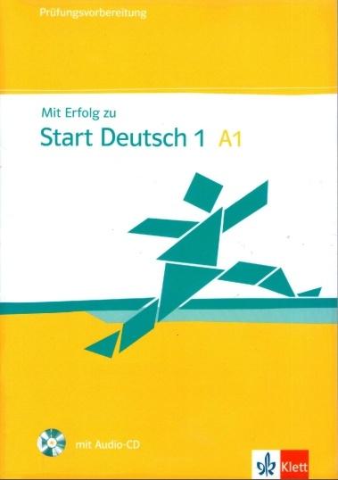 کتاب آموزش زبان آلمانی Klett Start Deutsch A1 به همراه فایل های صوتی کتاب