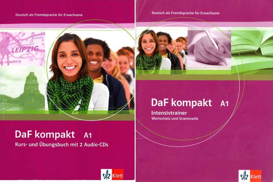کتاب آموزش زبان آلمانی DaF kompakt A1 به همراه فایل های صوتی کتاب