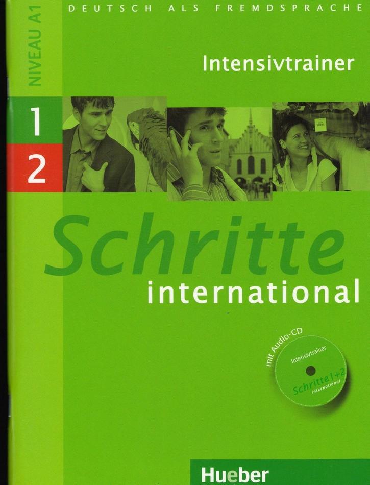 کتاب آموزش زبان آلمانی Schritte International Intensivtrainer 1-2 به همراه فایل های صوتی کتاب