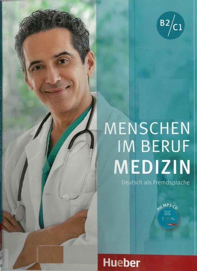 کتاب آموزش زبان آلمانی Menschen im Beruf - Medizin B2-C1 به همراه فایل های صوتی کتاب