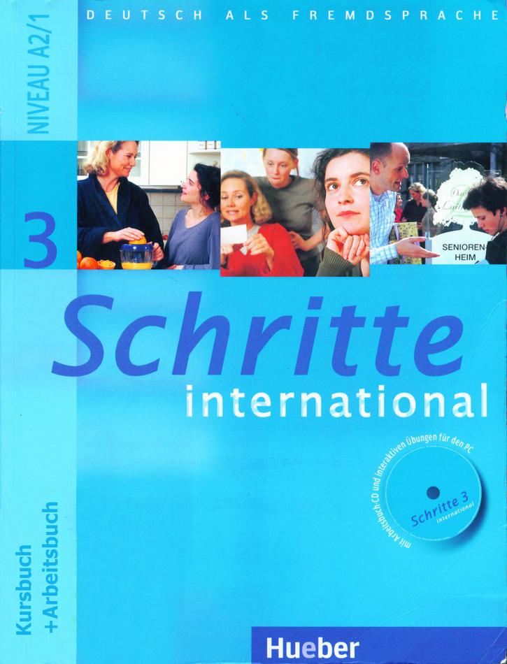 کتاب آموزش زبان آلمانی Schritte International 3 به همراه فایل های صوتی کتاب