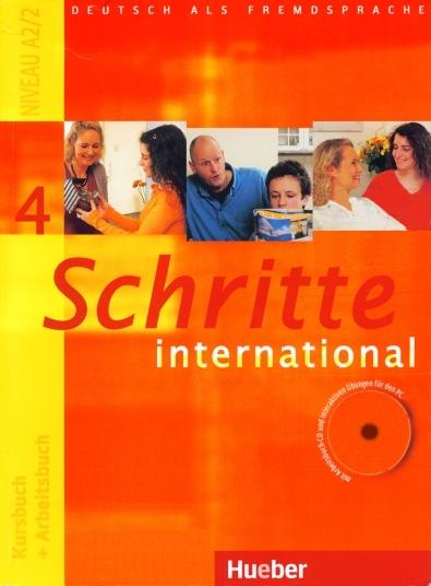 کتاب آموزش زبان آلمانی Schritte International 4 به همراه فایل های صوتی کتاب