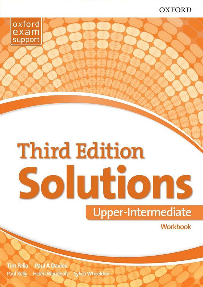 جواب تمارین کتاب کار Solutions Upper-Intermediate Workbook به همراه متن فایل صوتی - ویرایش سوم