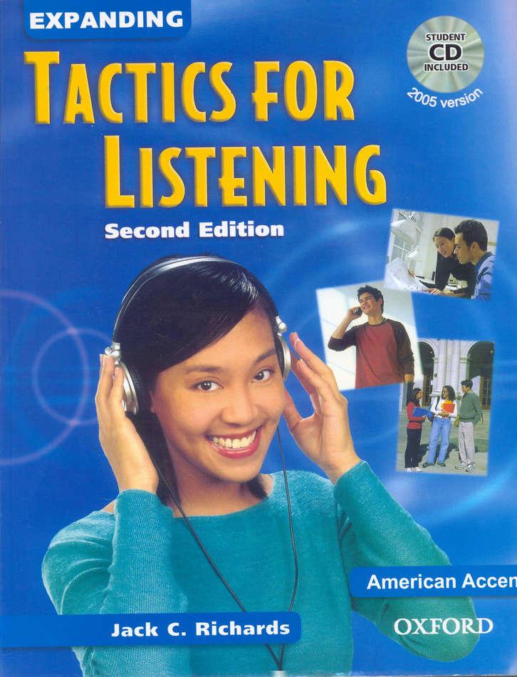 کتاب Expanding Tactics for Listening به همراه فایل های صوتی کتاب - ویرایش دوم