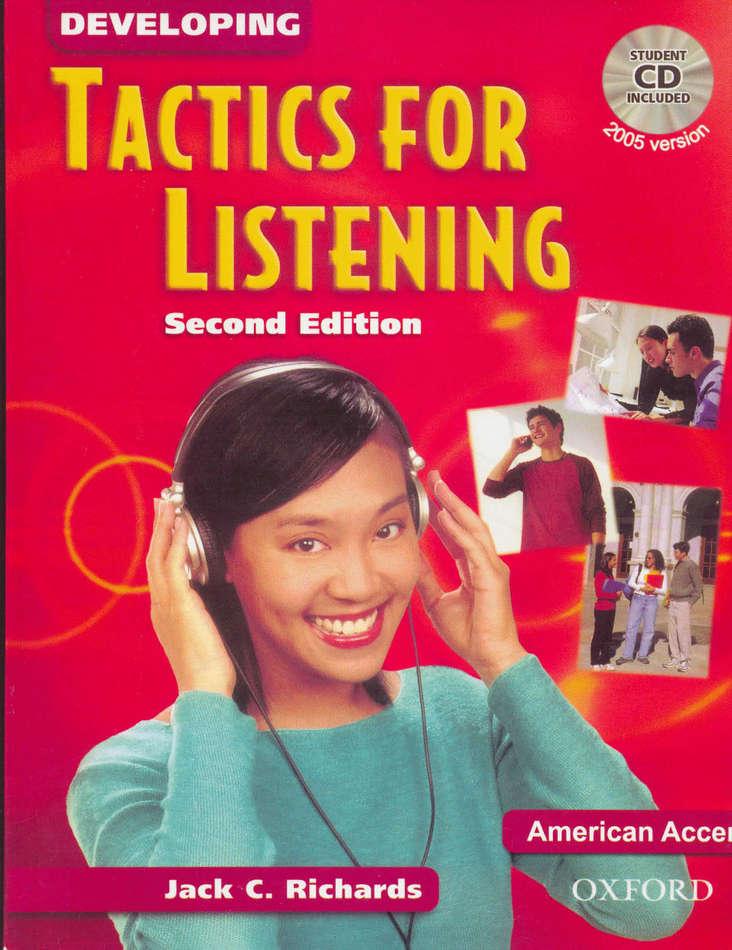 کتاب Developing Tactics for Listening به همراه فایل های صوتی کتاب - ویرایش دوم