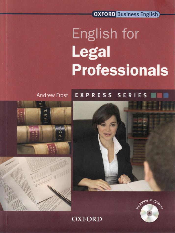 کتاب Oxford English for Legal Professionals به همراه فایل های صوتی کتاب