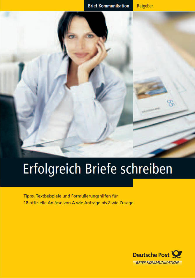 کتاب آموزش زبان آلمانی Erfolgreich Briefe Schreiben - Brief Kommunikation