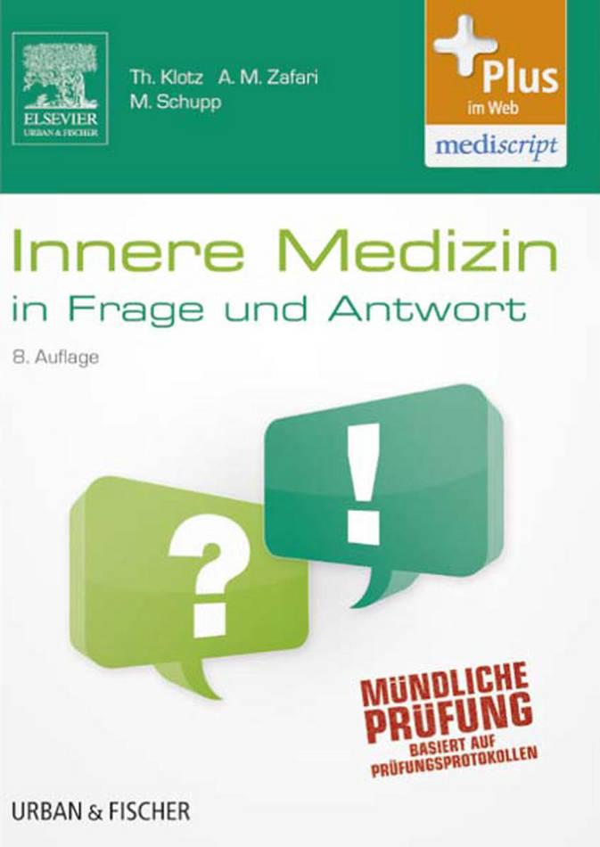 کتاب Innere Medizin in Frage und Antwort سال انتشار (2013) (زبان آلمانی)