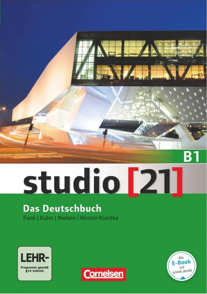 کتاب آموزش زبان آلمانی studio [21] Das Deutschbuch B1