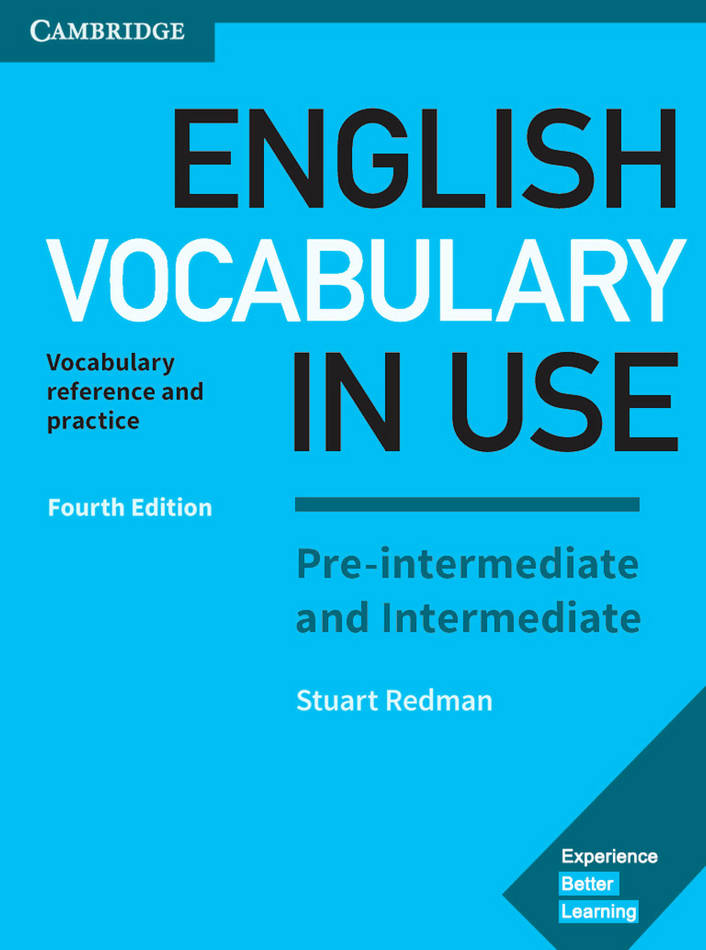 کتاب Cambridge English Vocabulary in Use سطح Pre-Intermediate and Intermediate - ویرایش چهارم (2017)