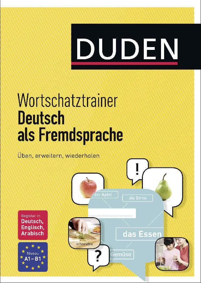 کتاب آموزش زبان آلمانی Wortschatztrainer Deutsch als Fremdsprache