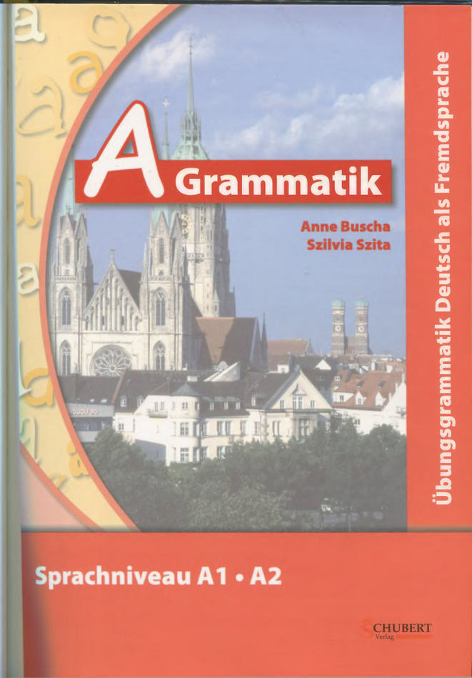 کتاب آموزش زبان آلمانی A-Grammatik به همراه پاسخ نامه و فایل های صوتی کتاب
