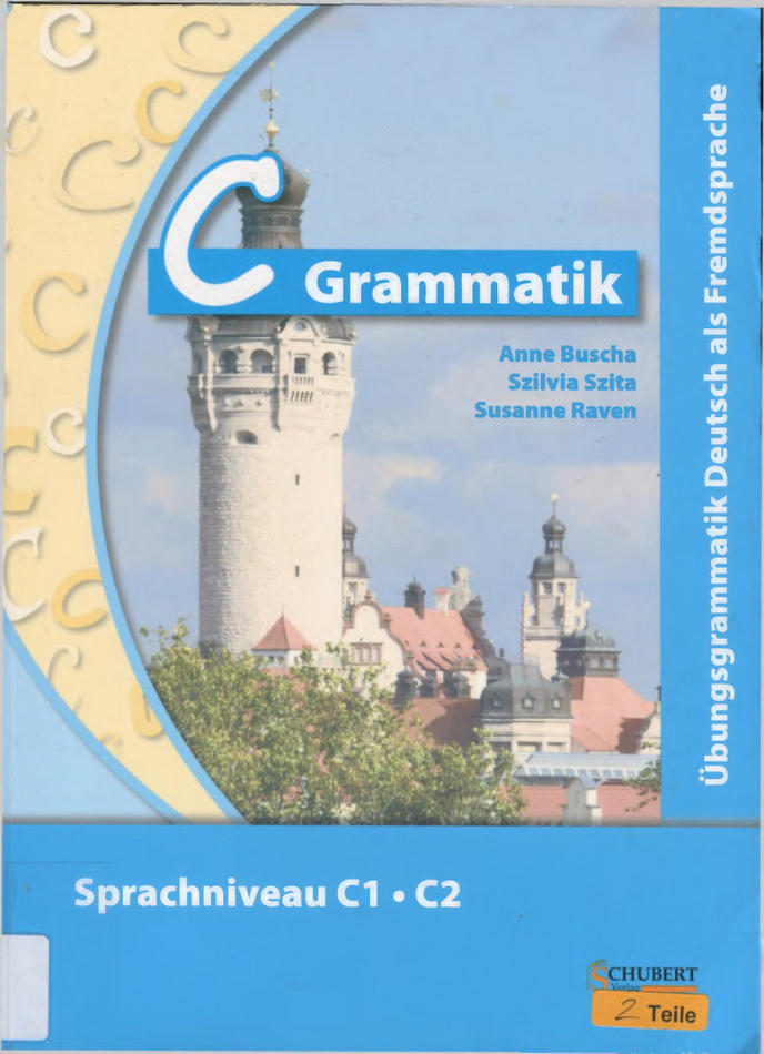 کتاب آموزش زبان آلمانی C-Grammatik به همراه پاسخ نامه کتاب
