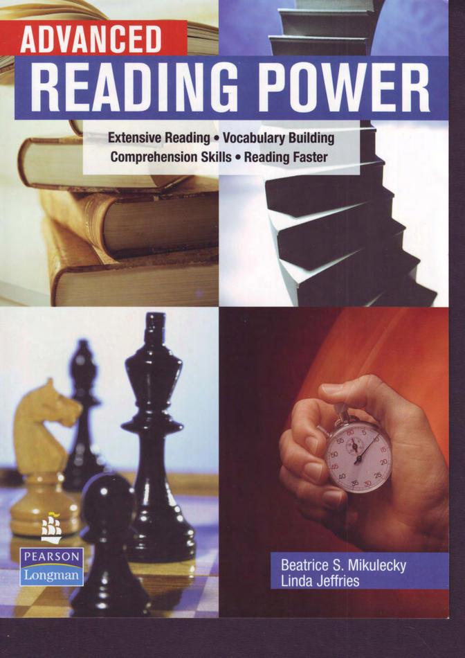 کتاب Advanced Reading Power به همراه پاسخنامه کتاب (2007)
