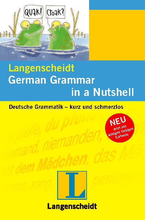 کتاب آموزش زبان آلمانی Langenscheidt German Grammar in a Nutshell