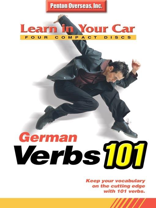 مجموعه آموزش زبان آلمانی German Verbs 101 (صوتی)