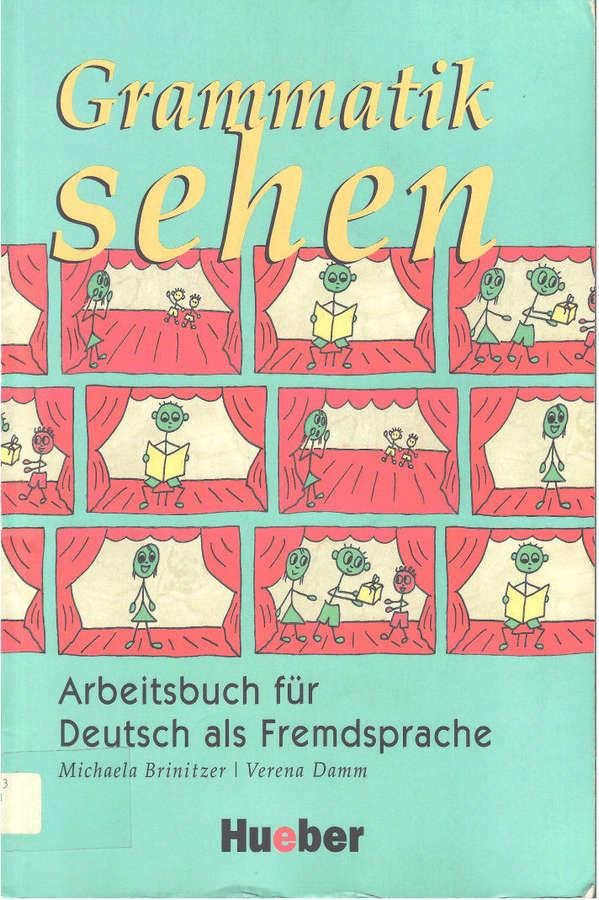 کتاب آموزش زبان آلمانی Grammatik sehen به همراه پاسخنامه کتاب