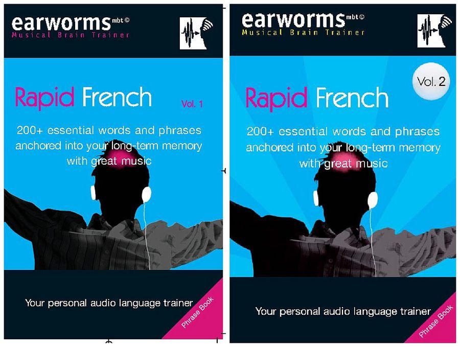 مجموعه آموزش زبان فرانسوی Earworms Rapid French - جلد اول و دوم