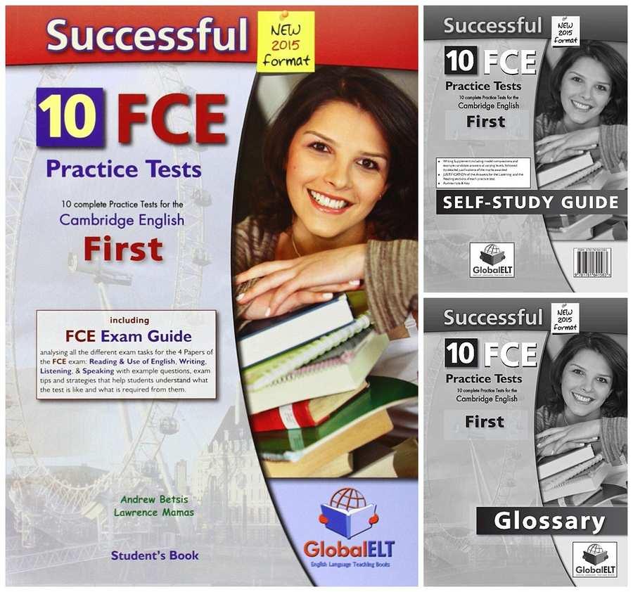 کتاب Successful FCE - 10 Practice Tests به همراه فایل های صوتی کتاب