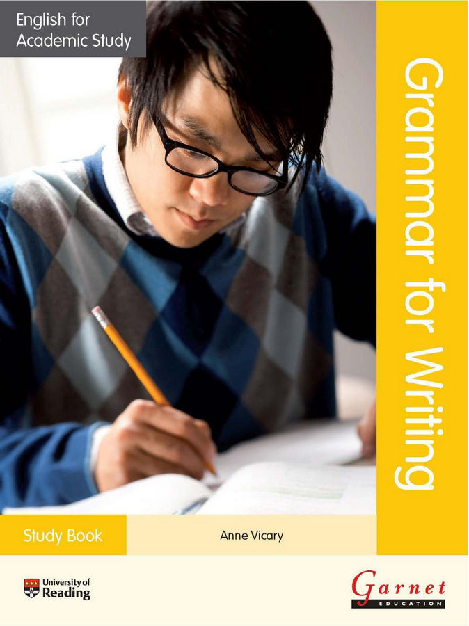 کتاب Grammar for Writing به همراه پاسخنامه کتاب (2014)