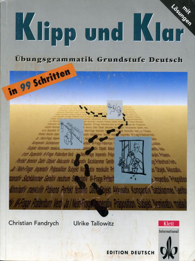 کتاب آموزش زبان آلمانی Klipp und Klar A1-B1