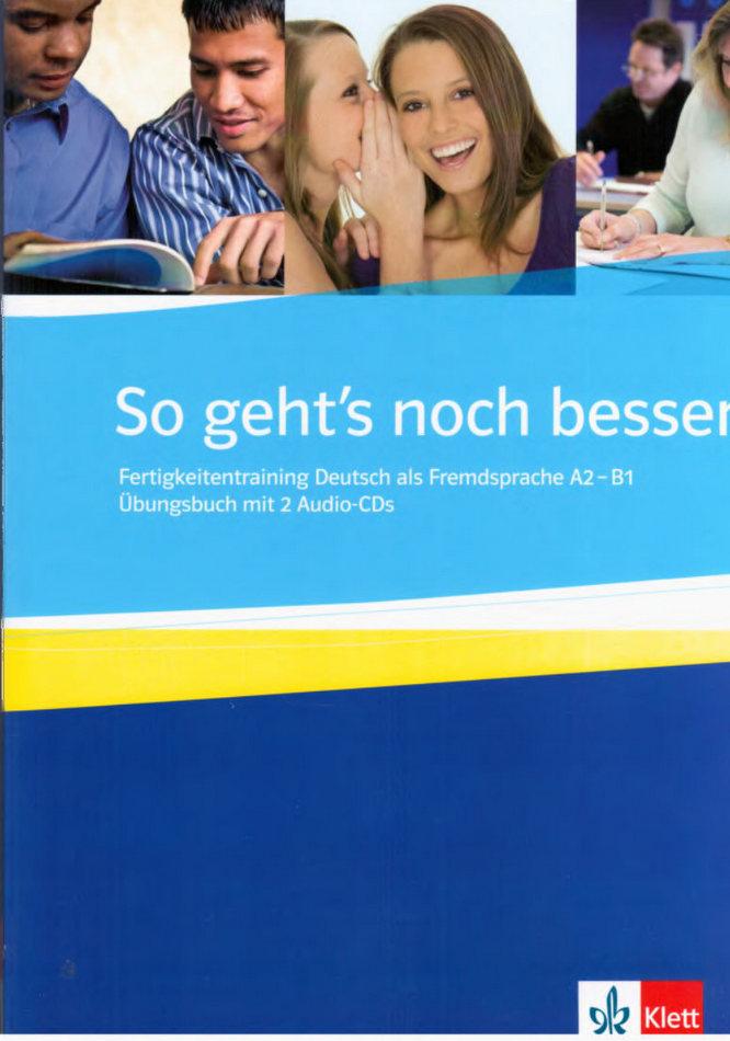کتاب آموزش زبان آلمانی So gehts noch besser А2-В1 به همراه فایل های صوتی کتاب