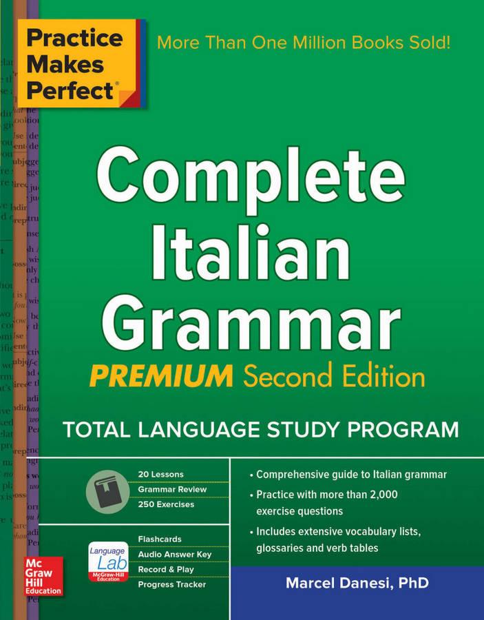 کتاب آموزش زبان ایتالیایی Complete Italian Grammar از سری کتاب های Practice Makes Perfect - ویرایش دوم