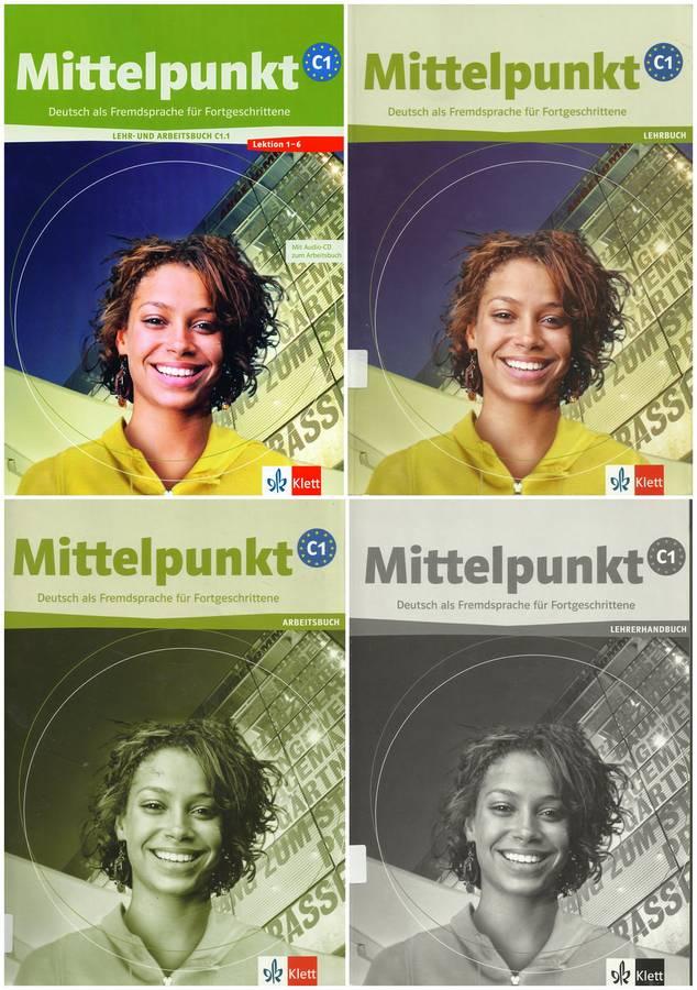 کتاب آموزش زبان آلمانی Mittelpunkt C1 به همراه کتاب کار و کتاب معلم و فایل های صوتی کتاب ها