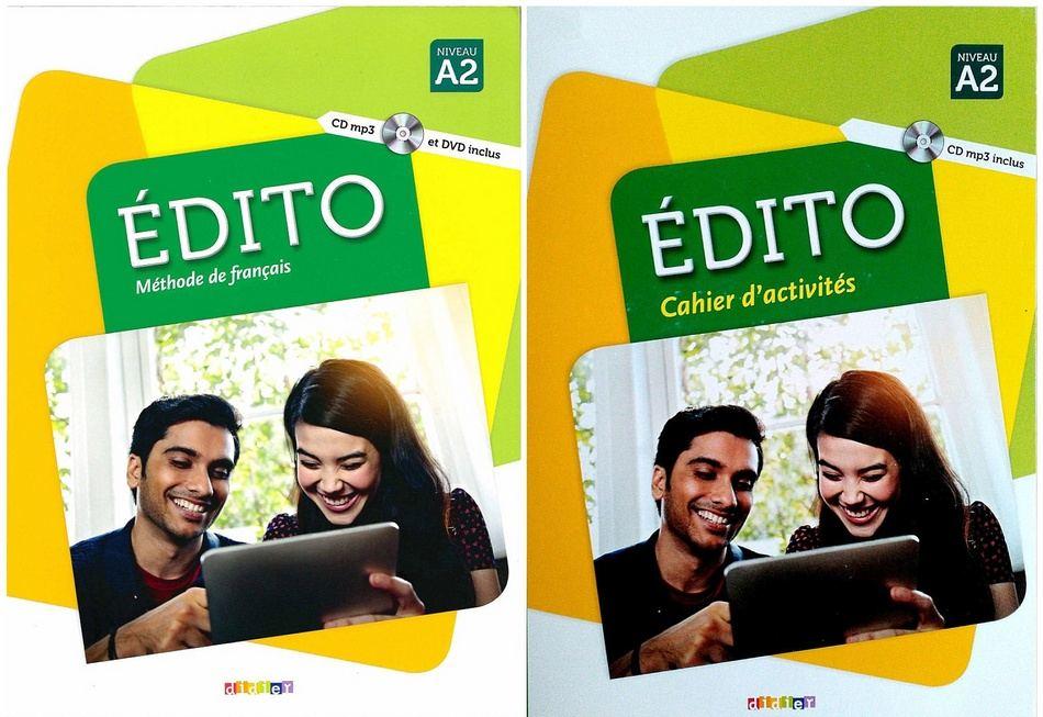 کتاب آموزش زبان فرانسوی Edito A2 به همراه کتاب کار و