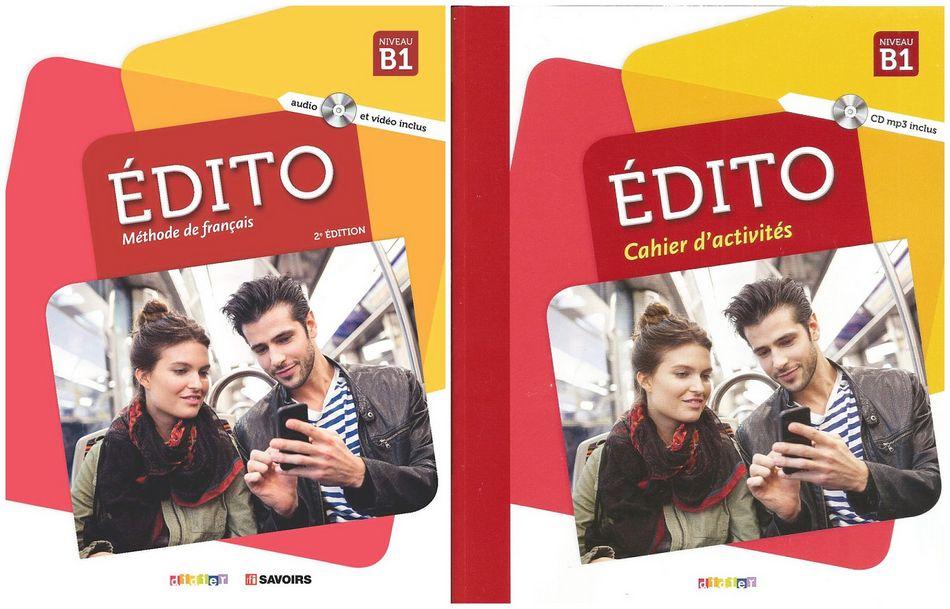کتاب آموزش زبان فرانسوی Edito B1 به همراه کتاب کار و کتاب معلم و فایل های صوتی کتاب