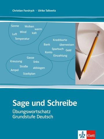 کتاب آموزش زبان آلمانی Sage und Schreibe به همراه جواب تمارین کتاب