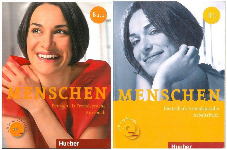کتاب آموزش زبان آلمانی Menschen B1.1